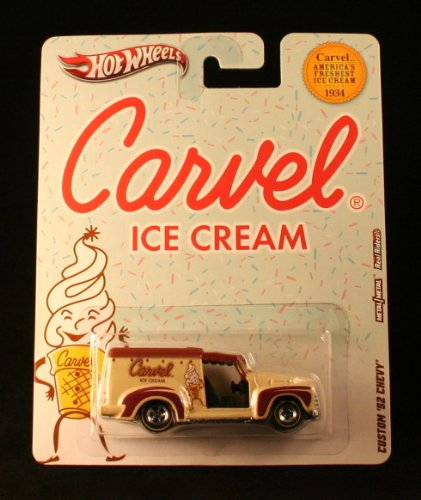 CUSTOM '52 CHEVY * CARVEL ICE CREAM * Hot Wheels 2012 Nostalgia Series 1:64 Scale Die-Cast Vehicle
