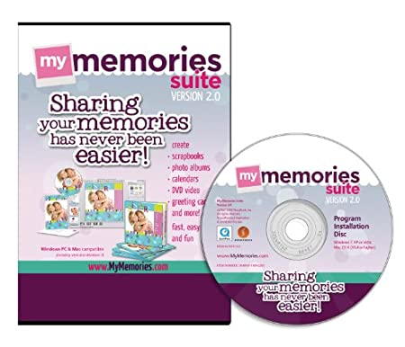 My Memories Suite 2.0 Digital Scrapbooking Software [Old Version]