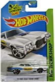 Hot Wheels 2014 Hw Performance Workshop White '72 Ford Gran Torino Sport 248/250