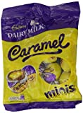 Cadbury Dairy Milk Caramel Minis 98 g Bag (Pack of 12)