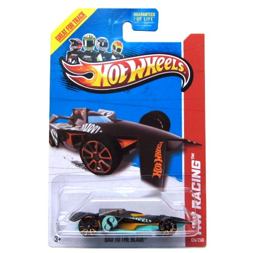 Hot Wheels Treasure Hunt Bad to the Blade Chase 2013 - 1