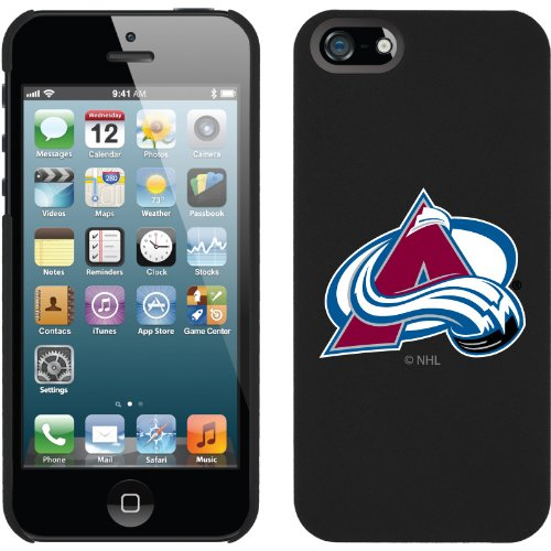 Special Sale Colorado Avalanche« - Primary Logo design on a Black iPhone 5s / 5 Thinshield Snap-On Case by Coveroo