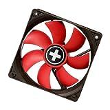 Xilence COO-XPF120.R.PWM - Red Wing (120mm) PWM Case Fan (Black/Red)