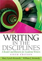 Writing in the Disciplines by Kennedy
