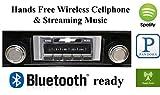Bluetooth Enabled 1978-1985 Chevy El Camino USA-630 II High Power 300 watt AM FM Car Stereo / Radio USB, Aux, iPod inputs