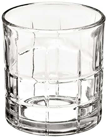 Anchor Hocking 68349 3-3/8 Inch Diameter x 3-1/2 Inch Height, 10.5-Ounce Tartan Rocks Glass (Case of 12)