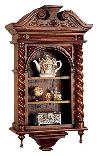 Vetrina - Carlo II - Parete Curio Cabinet