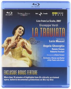 La Traviata By Giuseppe Verdi Teatro Alla Scala Milano 2008 Blu-ray 2010region Free Ntsc from Arthaus Musik