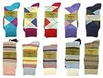 Fine Fit Mens Designer Dress Socks Ar...