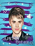 51QqTWIt2oL. SL160  Justin Bieber Hearts and Stars Super Soft Fleece Throw Blanket 50x60