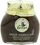Mrs Bridges Onion Marmalade with Black Olives and Balsamic Vinegar, 10 Ounce