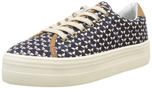 no-name-plato-sneakers-basses-femme-bleu-beck-navy-38-eu