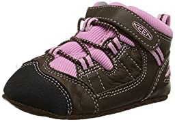 KEEN Targhee Crib Shoe (Infant), Cascade Brown/Lilac Chiffon, 18-24 Months M US Infant