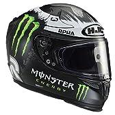 HJC(エイチジェイシー)バイクヘルメット フルフェイス モンスターエナジー L(59-60) アルファ10プラス ゴーストフュエラ HJH075