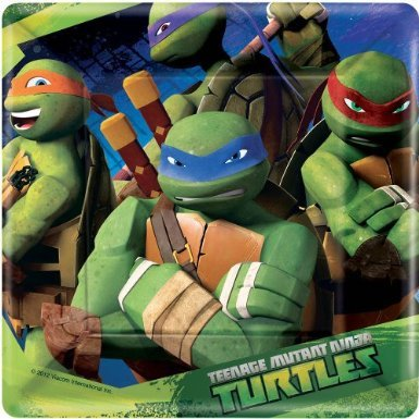 Lowest Price! Ninja Turtles Dessert Plates