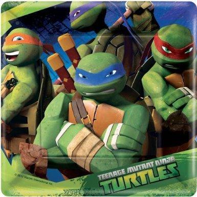 Lowest Price! Ninja Turtles Dessert Plates