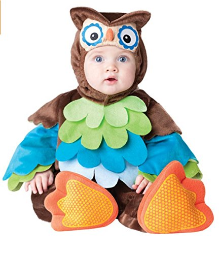 GnG Infant/baby/toddler-Unisex - Owl - Cutie Spooky Hoot! Halloween Costume
