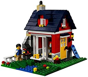 lego creator 31009 jeu de construction la petite maison jeux et jouets. Black Bedroom Furniture Sets. Home Design Ideas