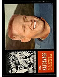 1962 Topps Jim Katcavage Giants-FB (Football Card) # 109 Dean's Cards 7 - NM coupons 2015