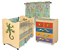Hot Sale Room Magic Nursery Set, Little Lizard Natural