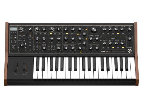Read About Moog Sub 37 Tribute Edition Analog Synthesizer