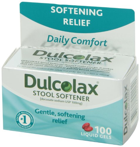 Dulcolax Stool Softener 100 Count 681421022040