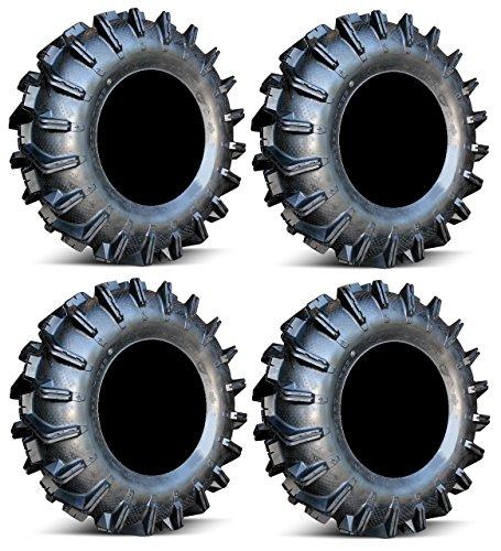 Full set of MotoSport EFX MotoBoss 32x10-15 (6ply) ATV Mud Tires (4) (32 Mud Tires compare prices)