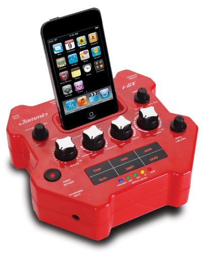Jammin i-GX Gitarren Effekt Prozessor mit Apple iPod Dockingstation