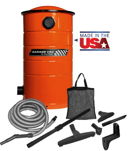 Images for VacuMaid GV30O Wall Mounted Garage Utility Vacuum with 30 foot Hose and Blow Function