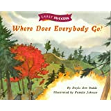TEN BOOK PACK - 5 Copies Each of 'Where Does Everybody Go?' and 'Beaches' - Houghton Mifflin, Invitations to Literacy, Early Success Books