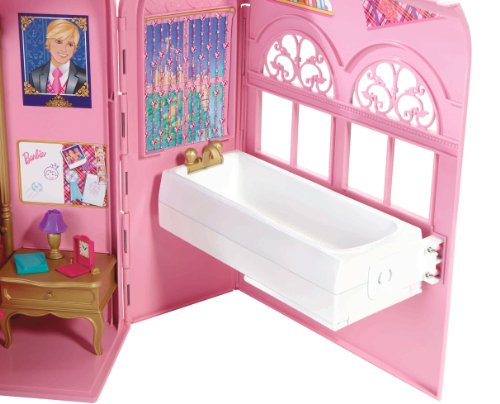 SeguiPrezzi.it - Mattel V6823 - Barbie Principessa, Camera ...