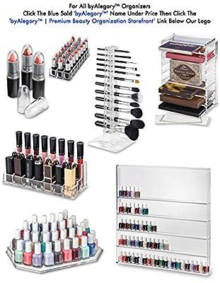 Acrylic Eyeshadow Organizer & Beauty Care Holder Provides 16 Space Storage | byAlegory Makeup Organizer