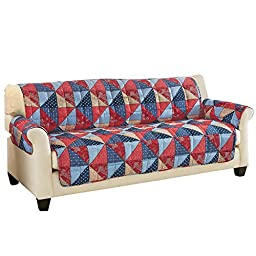 Quilted Americana Furniture Cover, Sofa