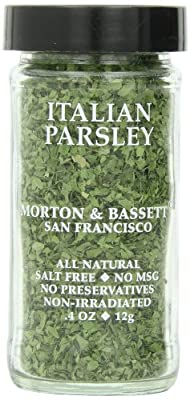 Morton & Basset Spices, Italian Parsley, 0.4 Ounce (Pack of 3) by Morton & Bassett