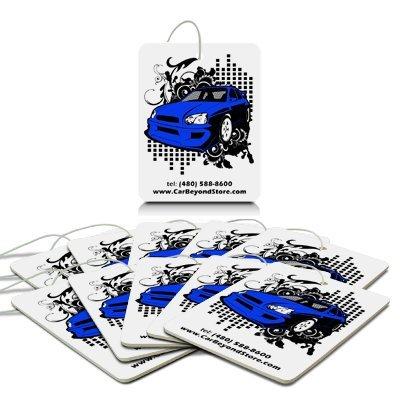 Blue Car Air Freshener, 10 Pack