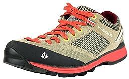 Vasque Women\'s Grand Traverse Hiking Shoe,Aluminum/Hot Coral,8.5 M US