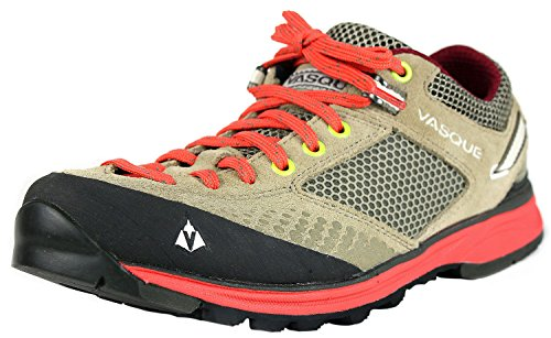 Vasque Women's Grand Traverse Hiking Shoe,Aluminum/Hot Coral,8 M US (Vasque Shoes compare prices)