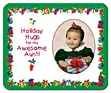 Holiday Hugs for My Awesome Aunt - Photo Magnet Frame