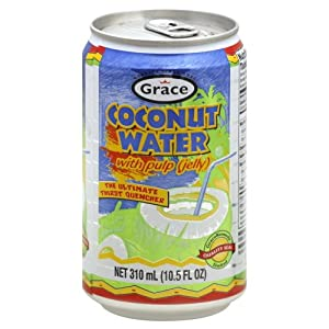 Badia Coconut Water with Pulp 10.5 OZ