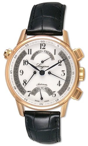 Longines Master Collection Retrograde 18k Rose Gold Limited Numbered Edition 120 Pieces Worldwide L4.797.8.23.2