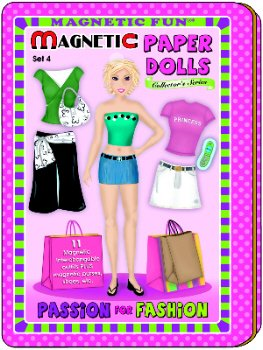 Passion for Fashion Magnetic Paper Dolls Travel Tin - 1