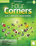 Jack C. Richards Four Corners Level 4 Full Contact with Self-study CD-ROM