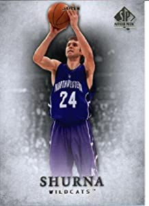 Buy 2012 -13 Upper Deck SP Authentic Basketball Card # 45 John Shurna Northwestern Wildcats by SP Authentic