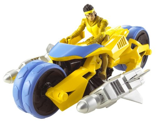 Picture of Mattel Hot Wheels Battle Force 5 Zoom and Chopper Figure (B0029F2O4O) (Mattel Action Figures)