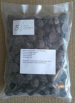Bitesize Organics Dairy Free Dark Chocolate chips 1kg