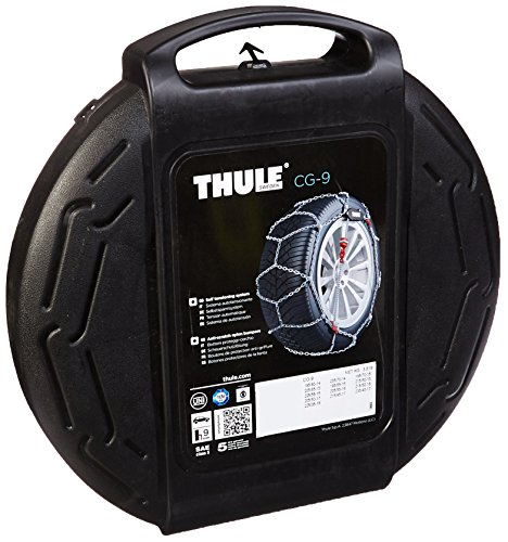 Thule 2004205090  9mm CG9 Premium Passenger Car Snow Chain, Size 090 (Sold in pairs) (Oasis Thule compare prices)