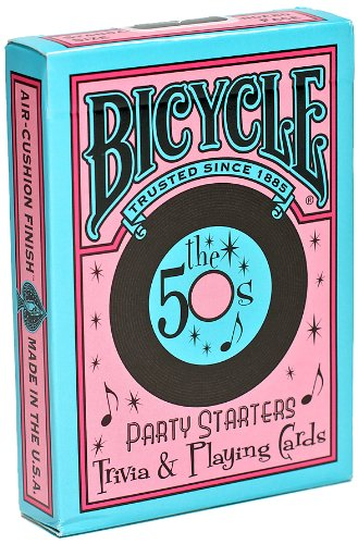 Bicycle Bicycle Deckades 50's & 60's Playing Cards
