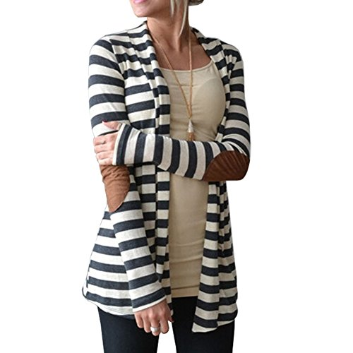 womens-elbow-patch-long-sleeve-shawl-collar-striped-cotton-sweater-cardigan-s-grey-and-white