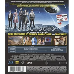 Invasion from Outer Space (3d Shutter) [Blu-ray] [Import allemand]