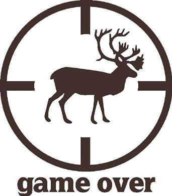 Juego encima Animal Hunter Rifle Sight Alcance Objetivo De Ciervos